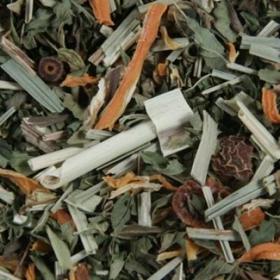 Biologische frisse nieuwe dag thee - Kruidenthee - Fleur de Cafe