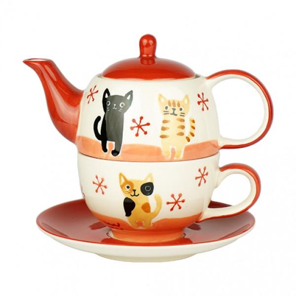 Tea for one set Mindra - keramiek