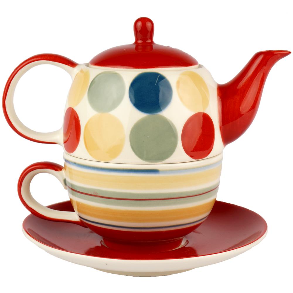 tea for one set chacult miranda. Black Bedroom Furniture Sets. Home Design Ideas