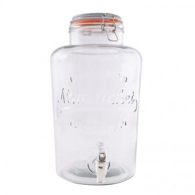 Drankdispenser glas 8 liter