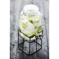 Dranktap 3,6 liter limonade, ice-tea of cocktails - incl. standaard