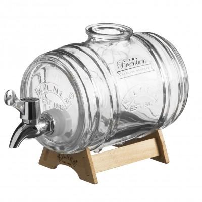 Glazen vat met kraan - Kilner Barrel - 1 Liter