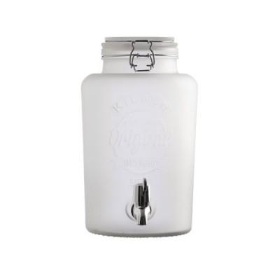 Kilner - 5 liter drankdispenser - Frosted wit