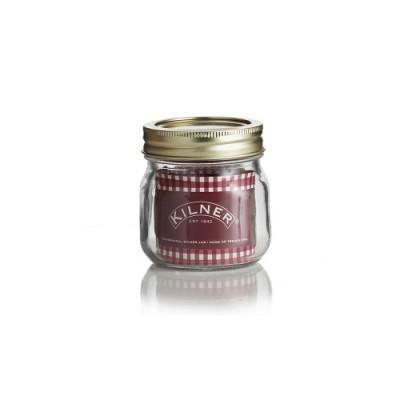 Glazen voorraadpot - weckpot 0,25 liter - schroefdeksel