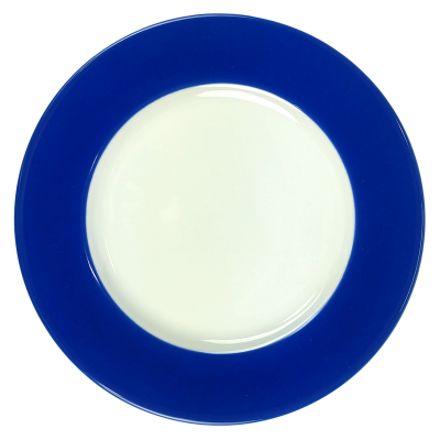 Walkure gebaksbordje - 19 cm - Blauw