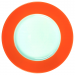 Walkure gebaksbordje - 19 cm - Oranje
