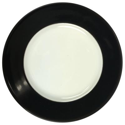 Walkure gebaksbordje - 19 cm - Zwart