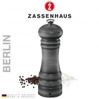 Zout- en pepermolen Zassenhaus Berlin - 18cm - Vintage grey