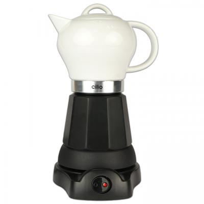 Elektrische espresso percolator - cilio 480 Watt - Porselein