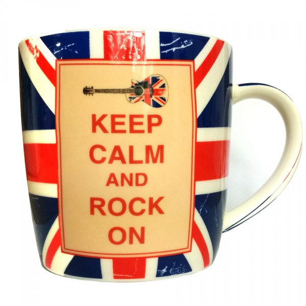 Theemok - Keep calm and rock on - Geschenkbox