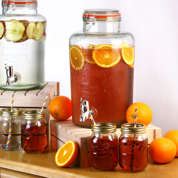 Kilner 5 liter tap ice-tea